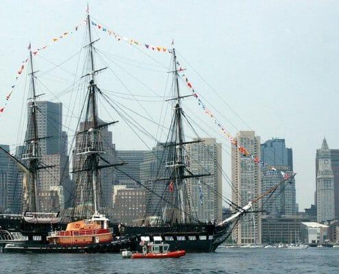 Boston Harbor Ship