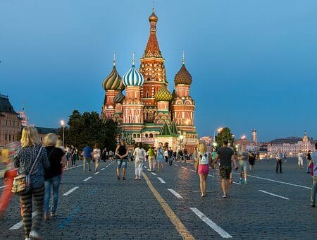 Montrose to Moscow Russia Flight Deal from $714rt