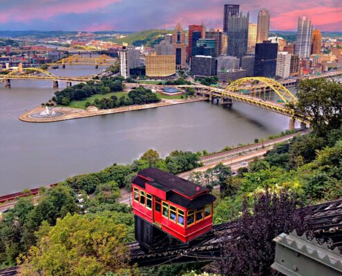 Montrose to/from Pittsburgh (PIT) PA Flight Deal from $240rt
